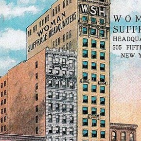September 17, 1909: National American Woman Suffrage Association Moves Back to New York City