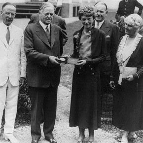 September 22, 1932: Amelia Earhart Lobbies for the ERA at the White House