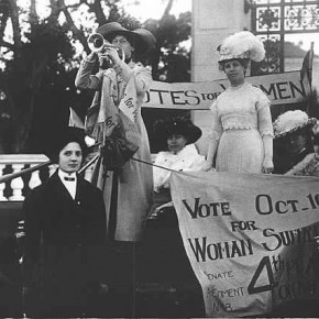 October 9, 1911: Suffrage Supporters and Opponents Both Aren't Giving Up in California