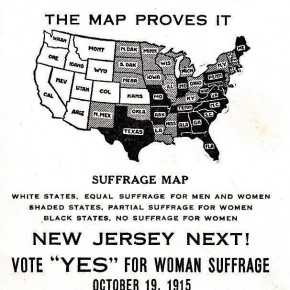 Today in 1915: Suffragists Set Their Sights on Eastern States