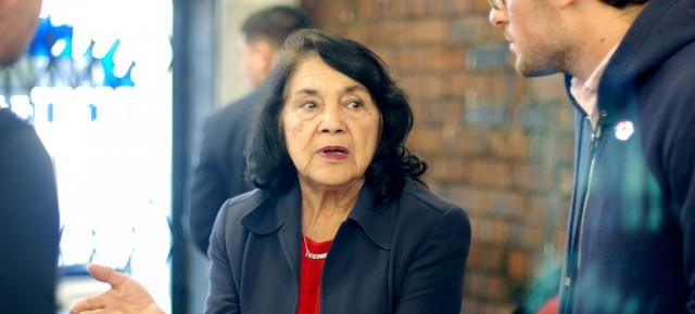 Activist Dolores Huerta Fights for Reproductive Rights in Colorado