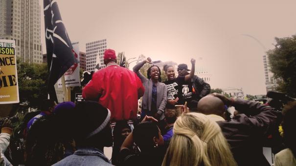 Ferguson October Weekend of Resistance 2014, St. Louis, MO