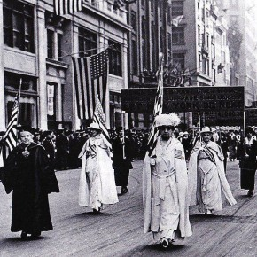 Today in Herstory: All Suffrage Sights Are Set to New York