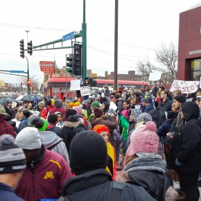 Thousands Protested the Ferguson Decision Across the Country Last Night