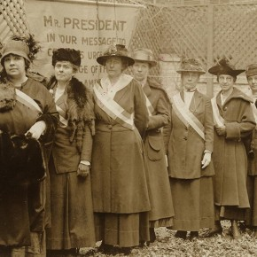 Today in Herstory: DC Judge Unexpectedly Frees Arrested Suffragists