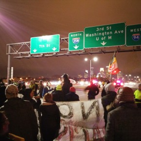 Protests of the Ferguson Grand Jury Decision Continued Across the Country Over the Holiday Weekend