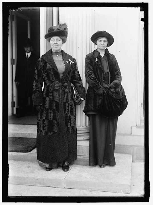 Margaret Hinchey, on the left, and Rose Winslow, on the right.