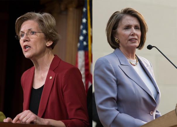 via  Senate Democrats &  Shutterstock.com