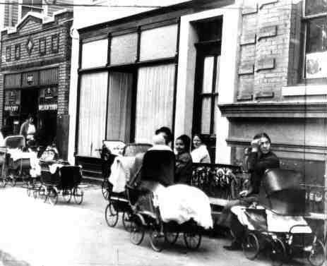 Sanger, Byrne and Mindell's busy clinic in the days before it was raided in October.