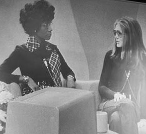 Today in Herstory: Gloria Steinem and Shirley Chisholm Take on Sexism Together