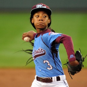 Little League Star Mo'ne Davis Honored by AP and Sports Illustrated