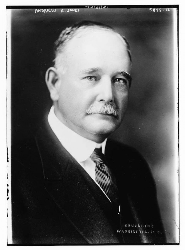 Senator Andrieus Jones, Democrat of New Mexico, who has served since March 4, 1917.