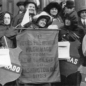 Today in Herstory: Suffrage Hikers Get Back on the Road