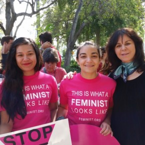 Feminist Activists Protest TPP and Brunei's Brutal Penal Code Outside Beverly Hills Hotel