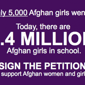 Tell President Obama: Afghan Women and Girls Need Our Continued Support!
