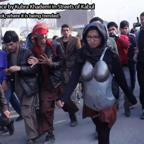 This Courageous One-Woman Protest Challenged Gender-Based Violence in Afghanistan