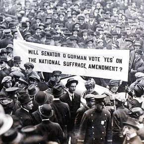 Today in Herstory: Suffragists Take Aim at Senator O'Gorman