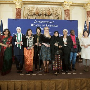 Afghan Woman Awarded International Women of Courage Award