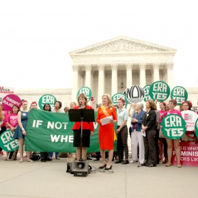 Members of Congress Renew the Fight for the Equal Rights Amendment
