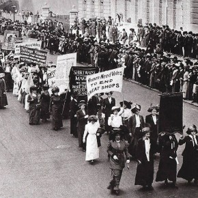 Today in Herstory: The Suffrage Parade is Bigger Than Ever
