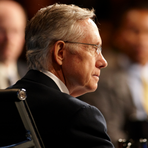 "Sen. Reid Promises to Filibuster ""Fast Track"" for the Trans-Pacific Partnership"