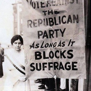 Today in Herstory: Alice Paul Attacks the Republican Party on Suffrage
