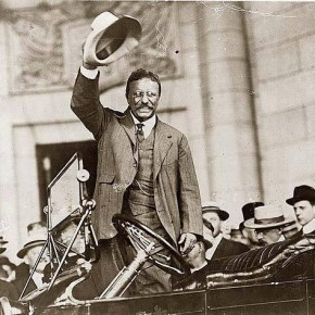 Today in Herstory: Theodore Roosevelt Comes Out in Support of Suffrage