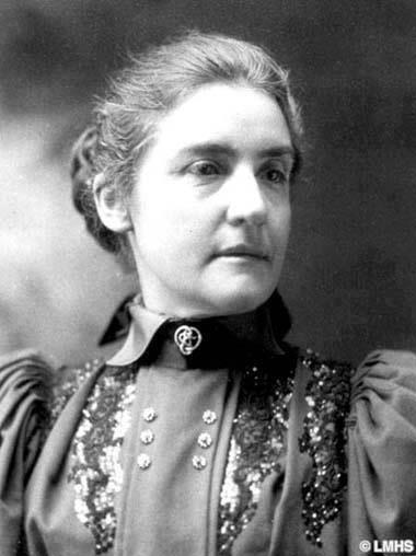 Martha Carey Thomas, President of Bryn Mawr College since 1894.