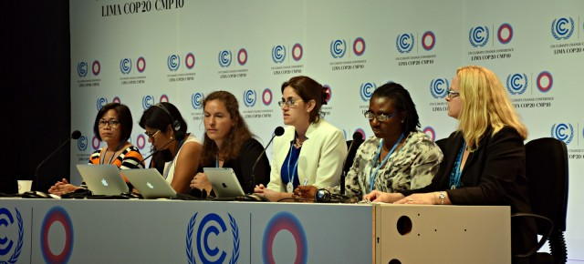 UN Conference for Climate Change Features Workshops on Gender and Climate
