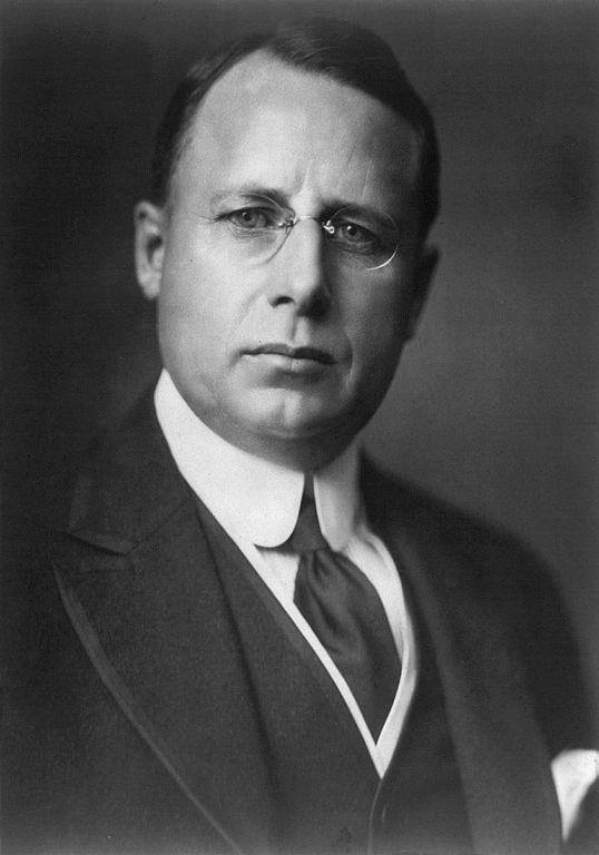 Ohio Governor James Cox, the newly-named Democratic Presidential nominee.