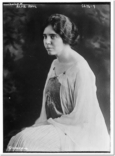 Equal Rights (Lucretia Mott) Amendment author Alice Paul.