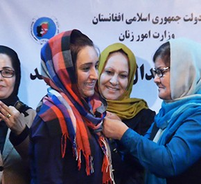Afghan Women Awarded for Women's Rights Advocacy