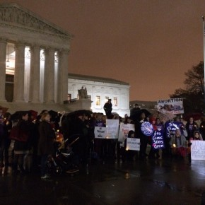 Candlelight Vigil Calls for an End to Anti-Abortion Terrorism