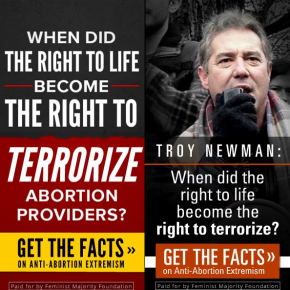 Bold New Ad Campaign Exposes Threats Against Abortion Providers