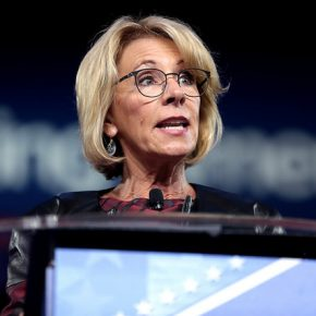 DeVos Meets with Men's Rights Activists Trying to Dismantle Title IX
